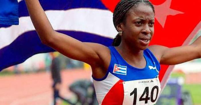 Domingo de oro para cubana Almanza en Liga del Diamante de atletismo en Estocolmo