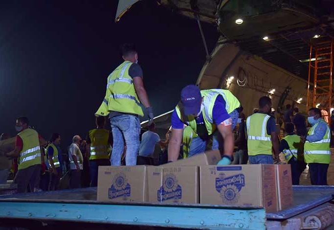 Llega a Cuba 88 toneladas de ayuda humanitaria procedente de Rusia