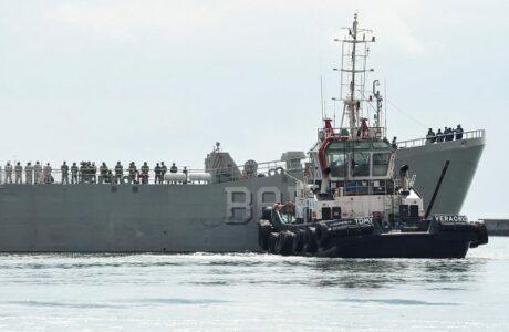 Zarpó de México segundo buque con ayuda humanitaria para Cuba