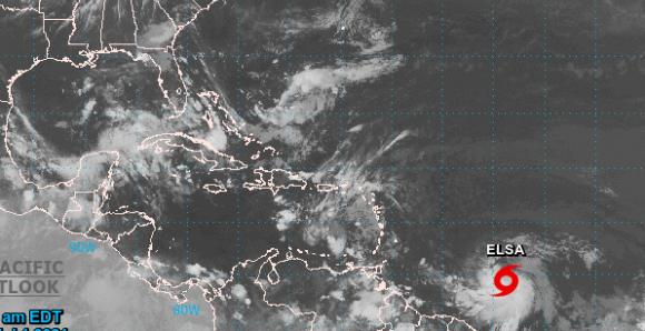 Se forma la tormenta tropical Elsa