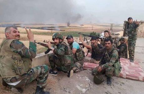 Violentos choques entre militares y terroristas en sur de Siria