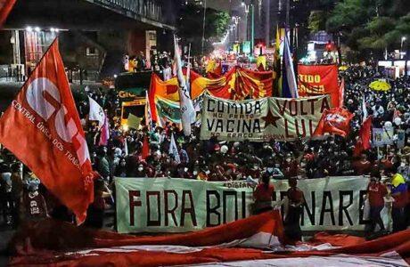 Centrales sindicales en Brasil llaman a la unión contra Bolsonaro