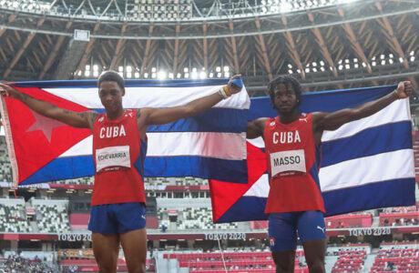 Inédito doblete cubano en salto de longitud olímpico