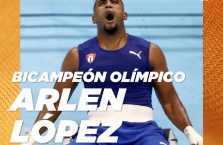 Puños de oro para Cuba: Arlen López es nuevamente campeón olímpico