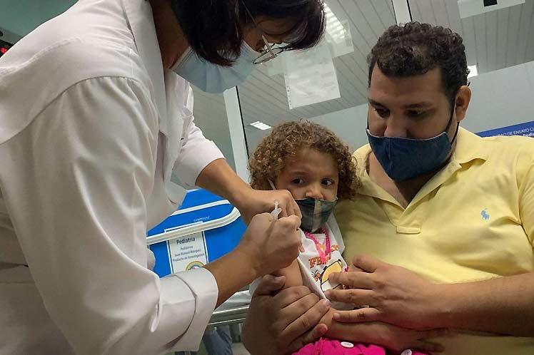 Campaña de inmunización antigripal en Cuba comenzará por los niños