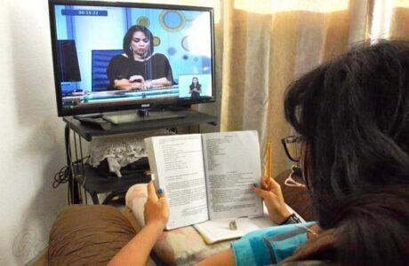 Más de 85 mil escolares guantanameros retoman las teleclases