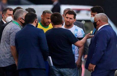 Acusan a futbolistas argentinos de incumplir protocolos de Brasil