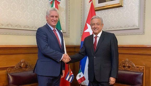 Mexicanos destacan visita del presidente cubano a la hermana nación