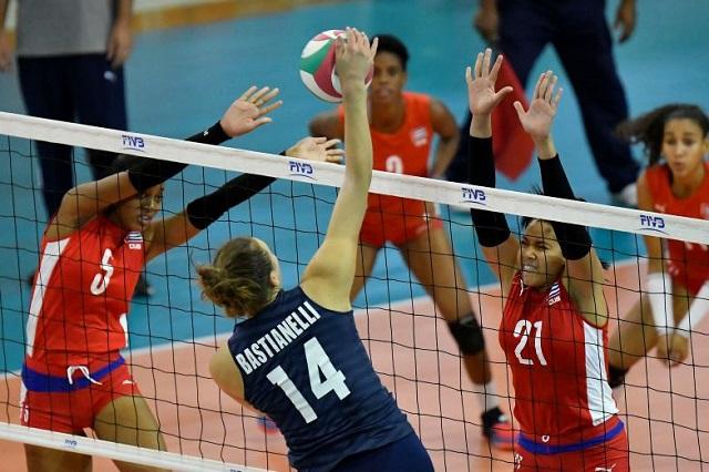 Segundo éxito y quinto lugar para Cuba en Copa Panamericana e voleibol (f)