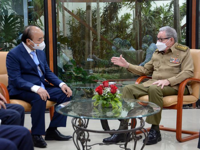 Recibió Raúl Castro al Presidente vietnamita
