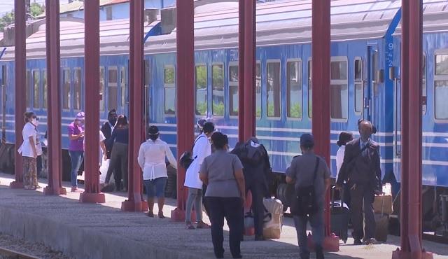 Arriba tren Habana-Guantánamo a las puertas del reinicio de la transportación nacional