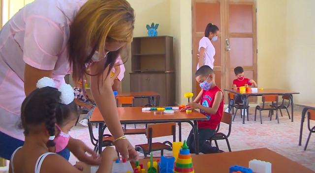 Inauguran primer círculo infantil en San Antonio del Sur (+ Video)