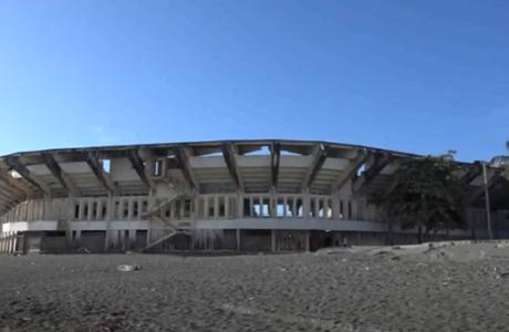 Estadio de Baracoa ¿Abandono o qué?