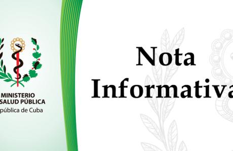 Nota de la Dirección Provincial de Salud en Guantánamo para ubicación de recién graduados