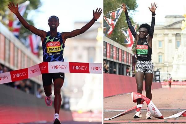 Maratón de Londres satisfizo en continuación del circuito élite