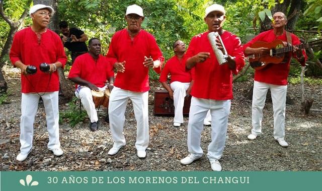 Morenos del Changüí celebran online sus 30 años