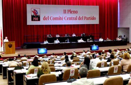 Presidido por el Primer Secretario del Comité Central, Miguel Díaz-Canel Bermúdez, el foro partidista trabajará hoy y mañana en el Palacio de las ConvencionesFoto: Estudios Revolución