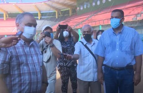 Presidente del INDER visita Guantánamo e inaugura áreas deportivas