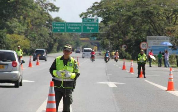 Cali ya emplea puestos de control para Panamericanos Júnior