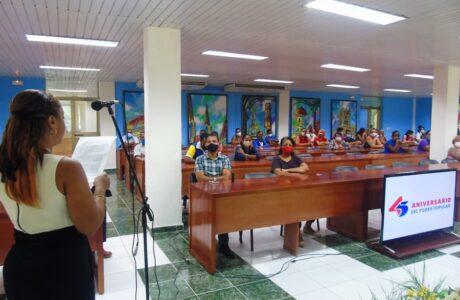 Trabajadores del Poder Popular en Guantánamo patentizan respaldo a la Revolución Cubana