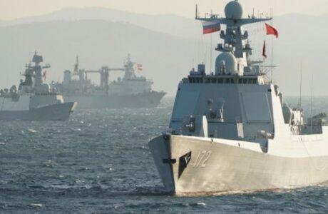 China y Rusia realizan su primer patrullaje marítimo conjunto