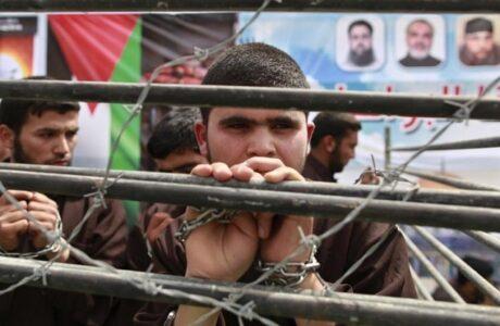 Cientos de palestinos continuarán protesta en cárceles israelíes