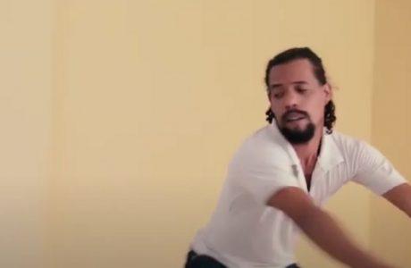 elipe Adriano Catalá, bailarín de la compañía guantanamera Danza Fragmentada