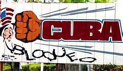 Cese el bloqueo de los Estados Unidos contra Cuba