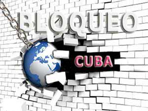 Bloqueo a Cuba