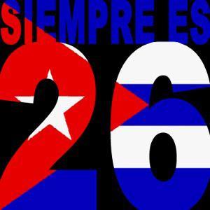 En Guantánamo, como en toda Cuba: Siempre es 26