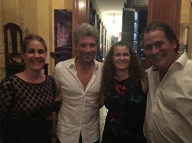 Bon Jovi también se sumó a la fiebre Cuba y está en La Habana