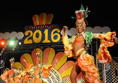 Vistosa gala inaugura Carnaval Guantánamo 2016 (foto: Leonel Escalona)