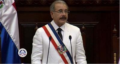 Danilo Medina por consolidar un Estado de paz