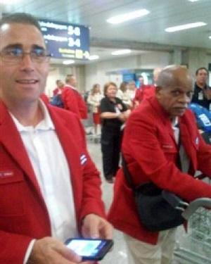 Gran parte de la delegación cubana se instaló en la madrugada de este martes en la Villa de los Juegos Olímpicos de Rio, tras un tranquilo viaje desde La Habana.