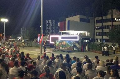 Preside Raúl Acto Central por el Día de la Rebeldía Nacional