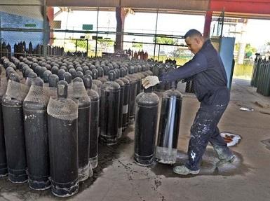 Comienza venta mayorista de gases industriales a trabajadores por cuenta propia