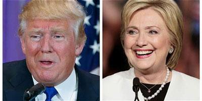 Hillary Clinton saca ventaja a Trump en carrera electoral en EE.UU.