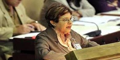 Lina Pedraza: Cuba dedicó el 54 % de su gasto presupuestario a salud y educación