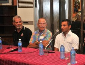 Pastores por la Paz confraternizan con médicos cubanos