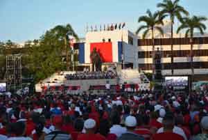 Solidario y emotivo acto en Angola por Día de Rebeldía cubana